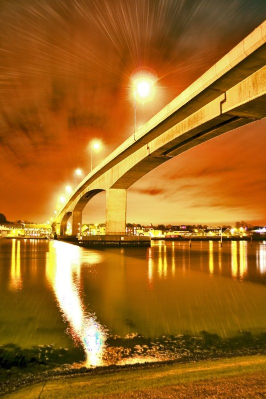 Itchen Bridge Side View HDR