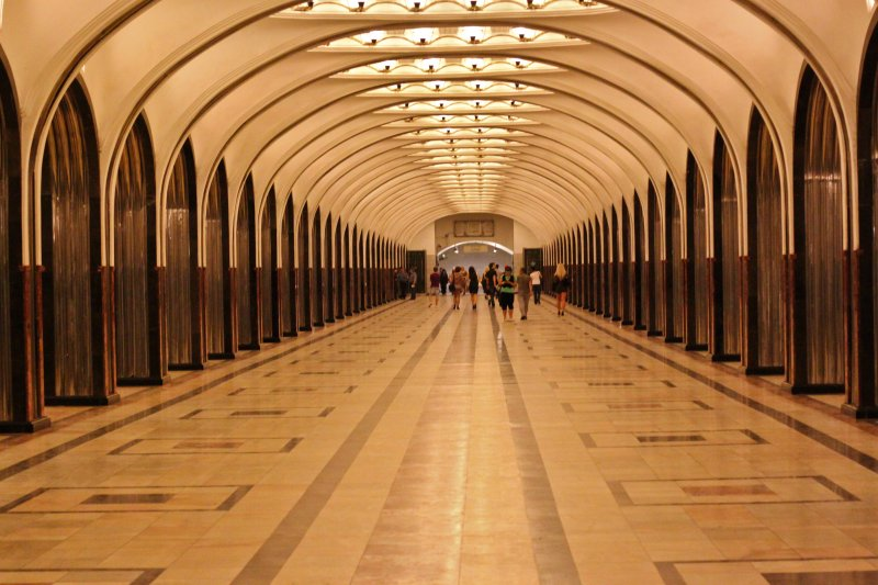 The Beauty of the Moscow Underground