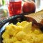 Scrambled Eggs & fruit
