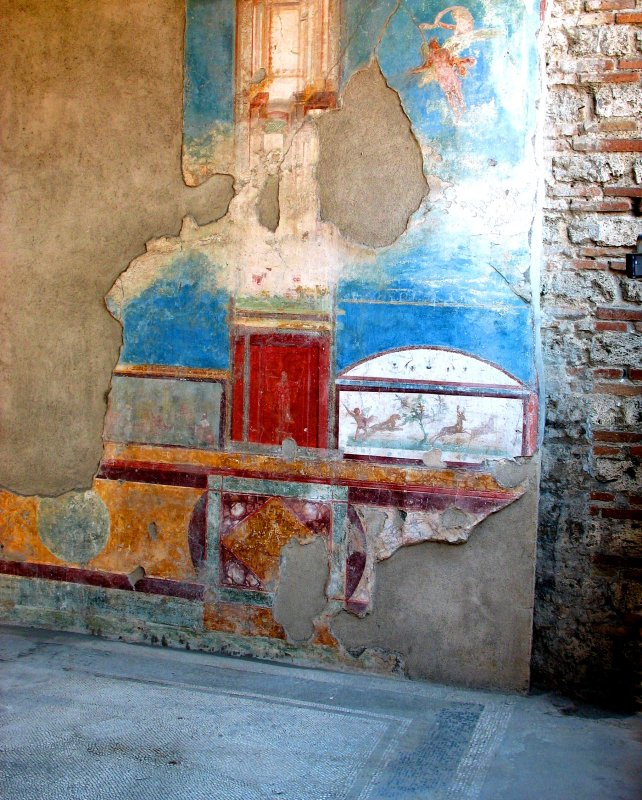 Pompei Wall Mural