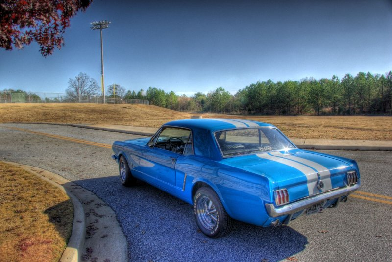 1964 1/2 Ford Mustang HDR