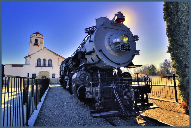 Day 8:   Boise Train Depot and Engine