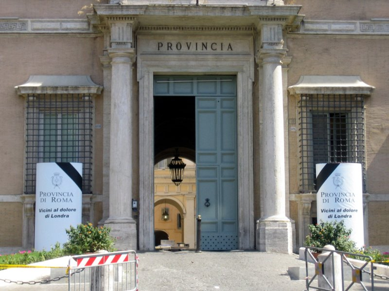 rome, italy: the provincia mourns