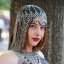 Portrait of a lovely Chain Mail goddess