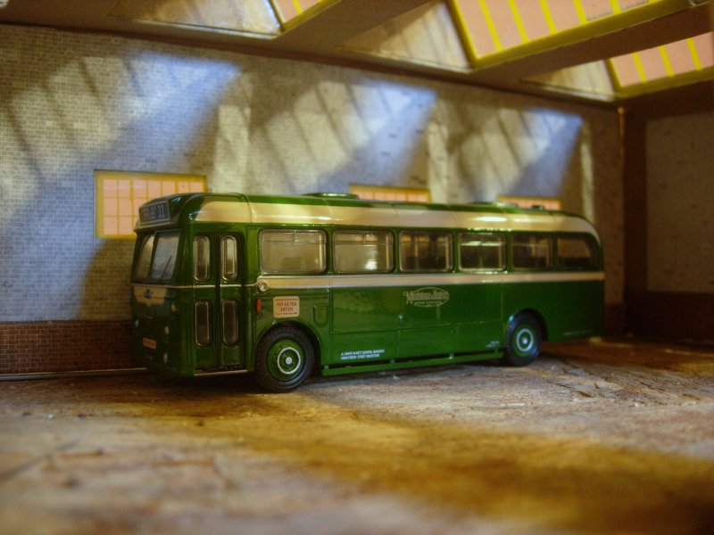 In the old bus station