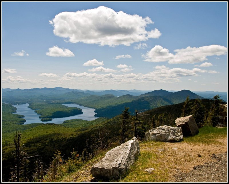 Whiteface 6: View of Lake Placid