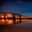 Night draws in on the Garonne