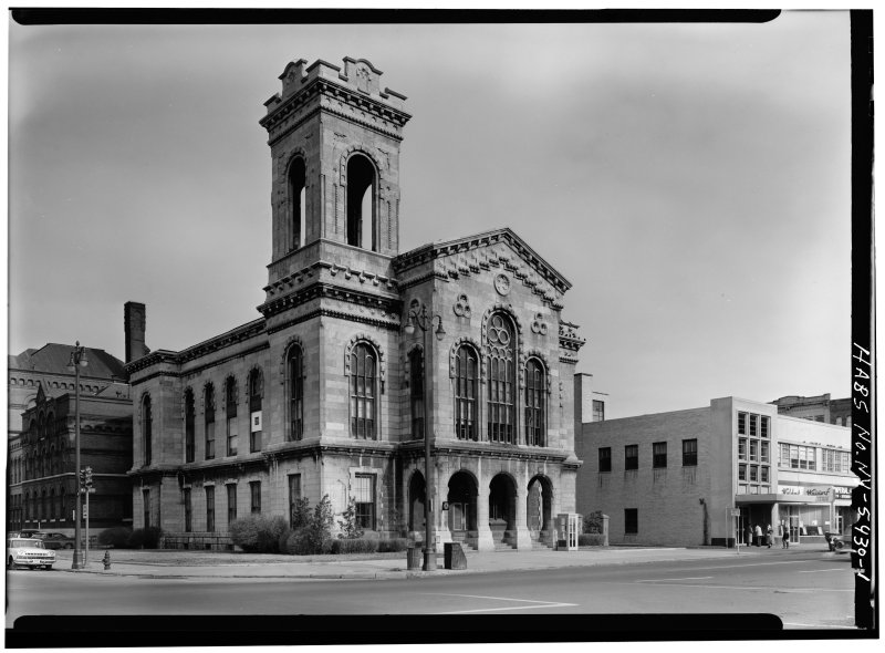 Onondaga County Courhouse(demolished) from HABS