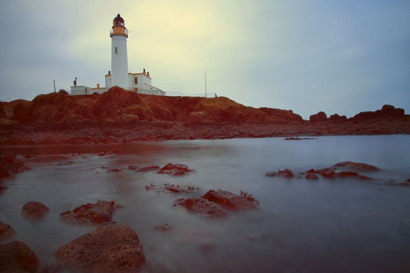 Gloom at Turnberry Lighthouse