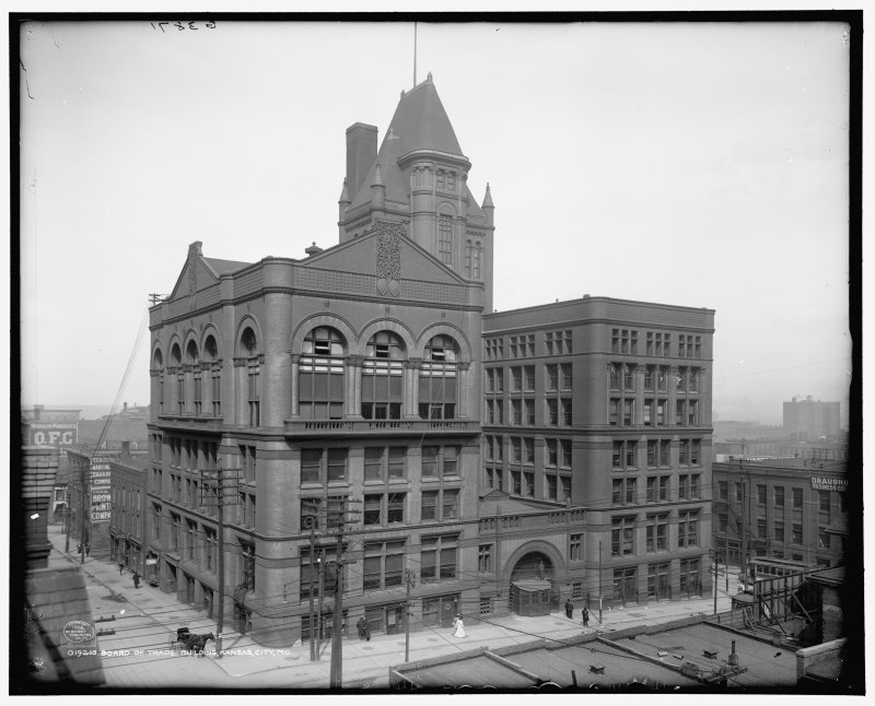 Kansas City Board of Trade Buiding (demolished) from LOC