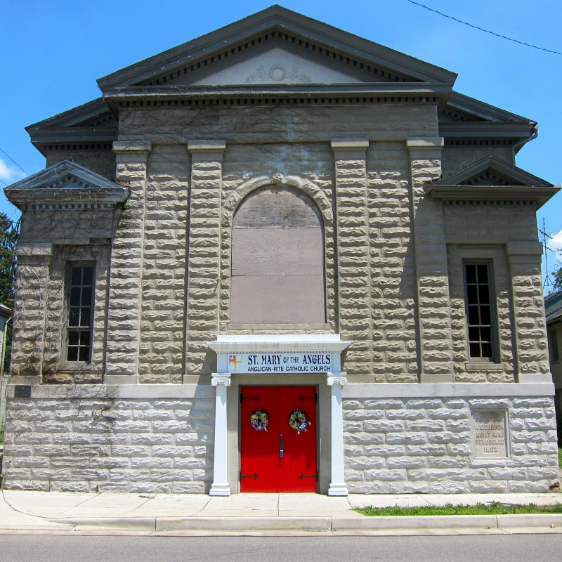 LaPorte, Indiana 2011: St. Mary of the Angels Church