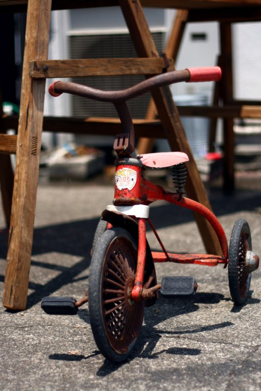 Tricycles are Cool.