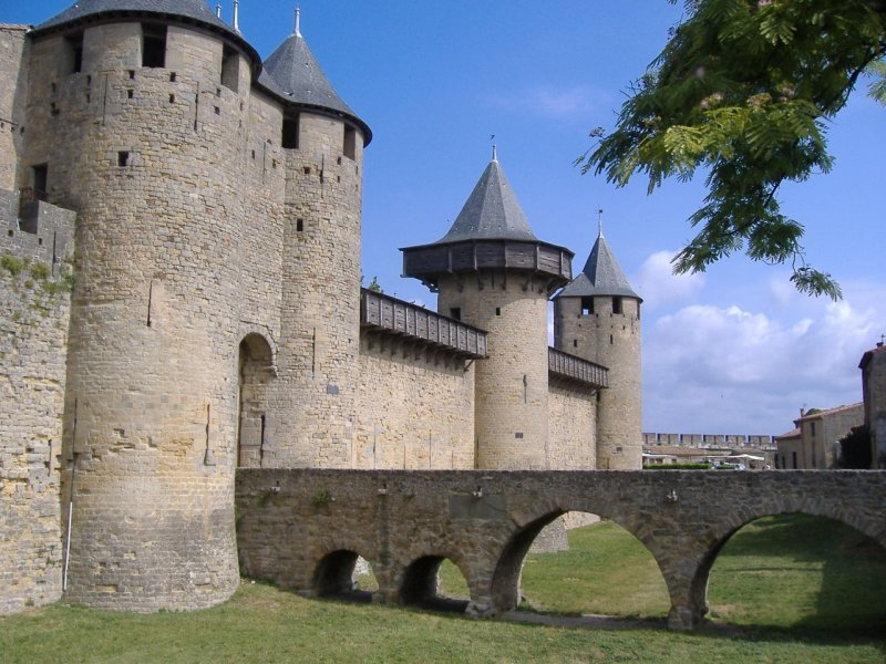Carcassonne Burgfried
