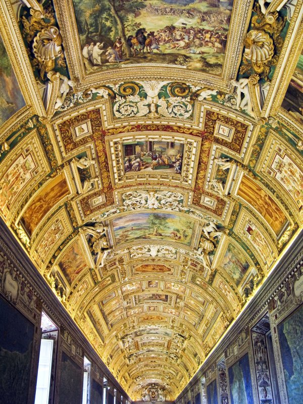 Ceiling Decorations — Vatican Museum