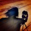 Photographer, Camera and Tripod: Shadow Self Portrait, Spirit Within