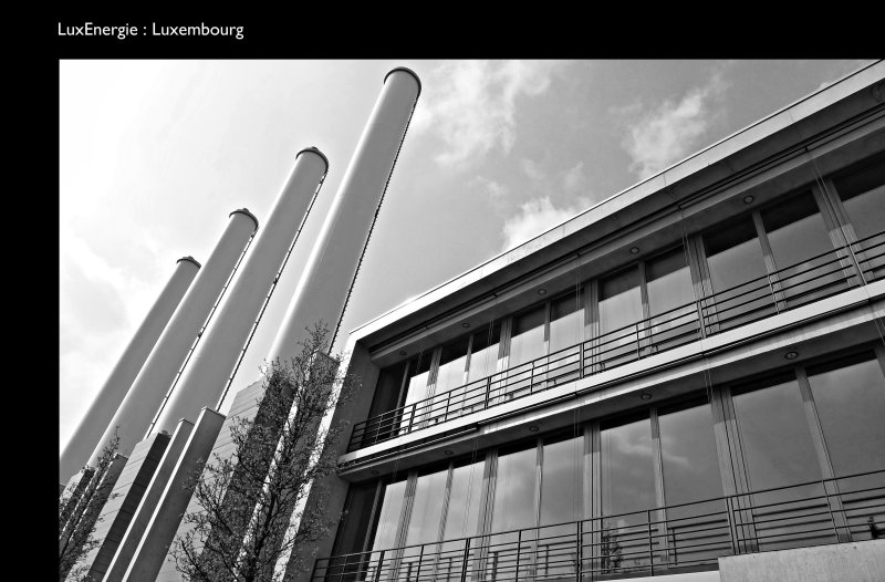 [ In LINE with the ENERGY of LIFE ] @ LuxEnergie, Luxembourg City // Kirchberg, Grand Duchy of Luxembourg
