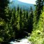 FLuss am Stevens Pass USA