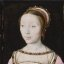 Miniature Painting, Unknown Artist: Portrait of Françoise de Longwy