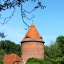 Burgturm in Plau am See