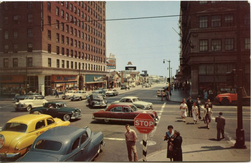 Hollywood and Vine (1952?)