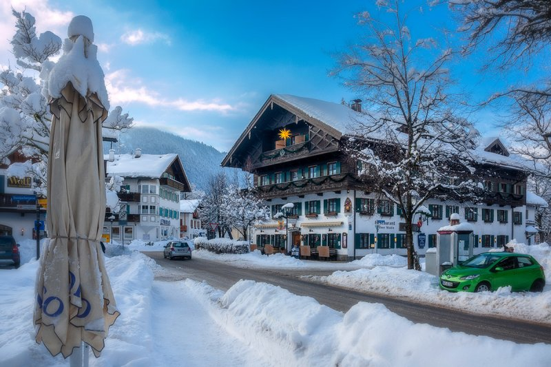 Winter in Oberammergau