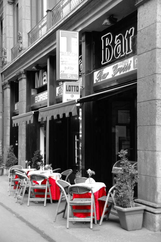 Cafe in Milano