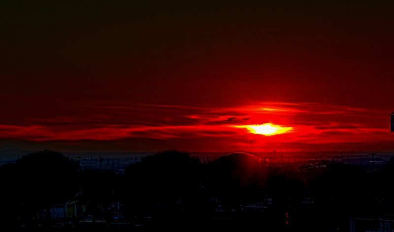 Sunset from my House 2