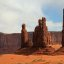 Yei Bi Chei and the Totem Pole in Monument Valley