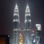 Petronas Twin Towers by night