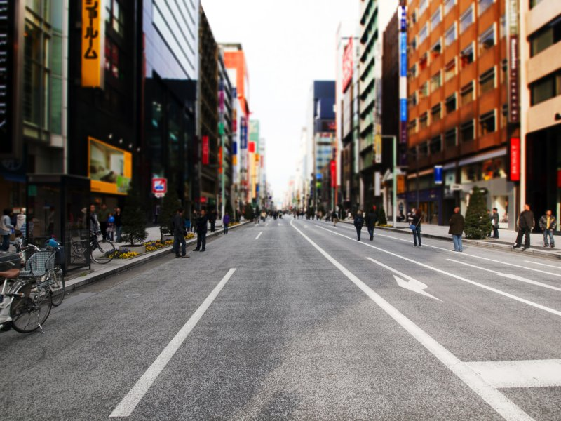 The Ginza Perspective