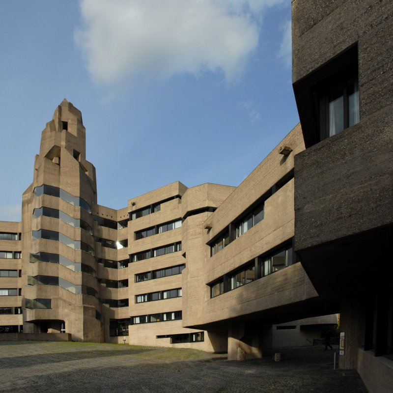 gottfried böhm, bensberg town hall, 1962-1967