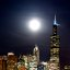Moon Over Chicago