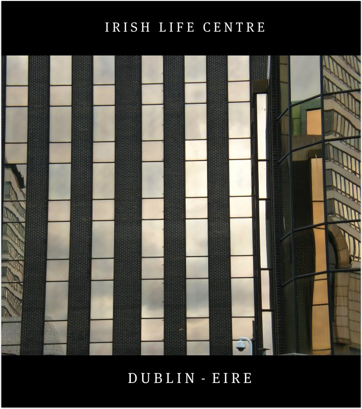 In the heart of the urban beauty! A significant landmark on Abbey Street in Dublin, the Irish Life Centre. Enjoy the lines!:)
