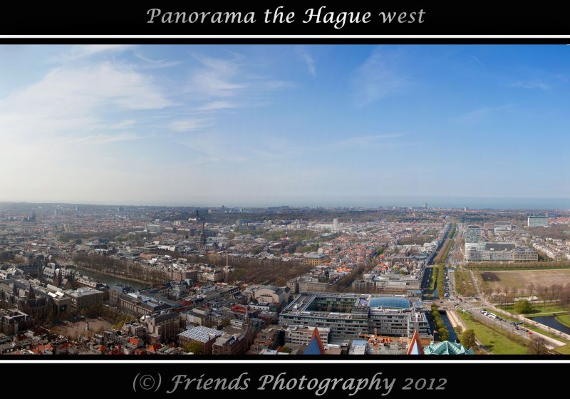 Panorama from The Hague west