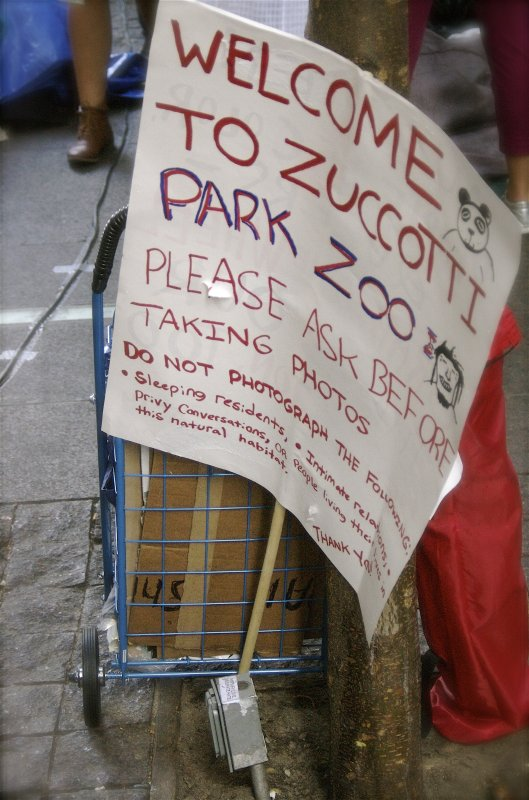 Welcome to Zuccotti Park