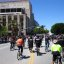 1st Street in front of the  LA Times during CicLAvia on April 15, 2012