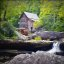 Glade Creek Grist Mill - Summer