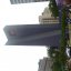 Freaky bell tower at Pershing Square