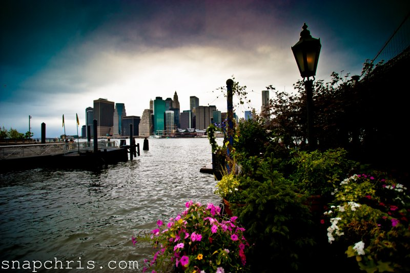A view of New York from Brooklyn