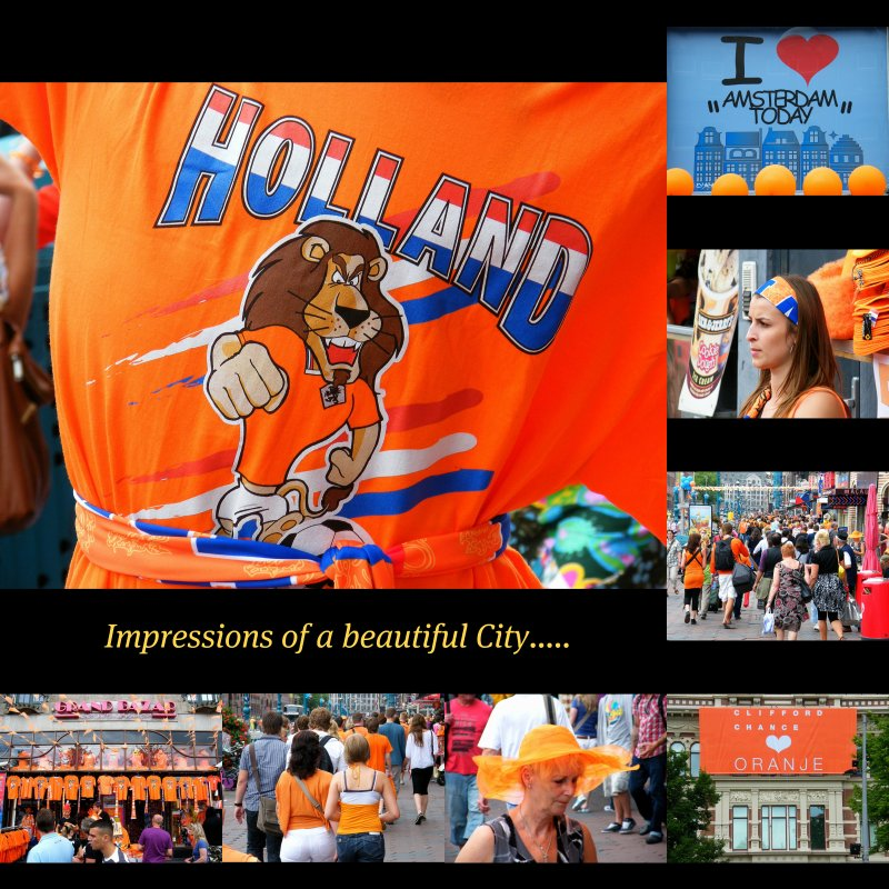 AMSTERDAM : The Netherlands : HOLLAND : Our impressions of a beautiful City! WORLD : SENSE : SEE : FEEL : LOVE COLLAGE : Enjoy! :)