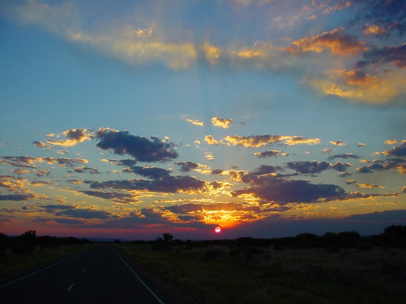 Outback Sunset (2)