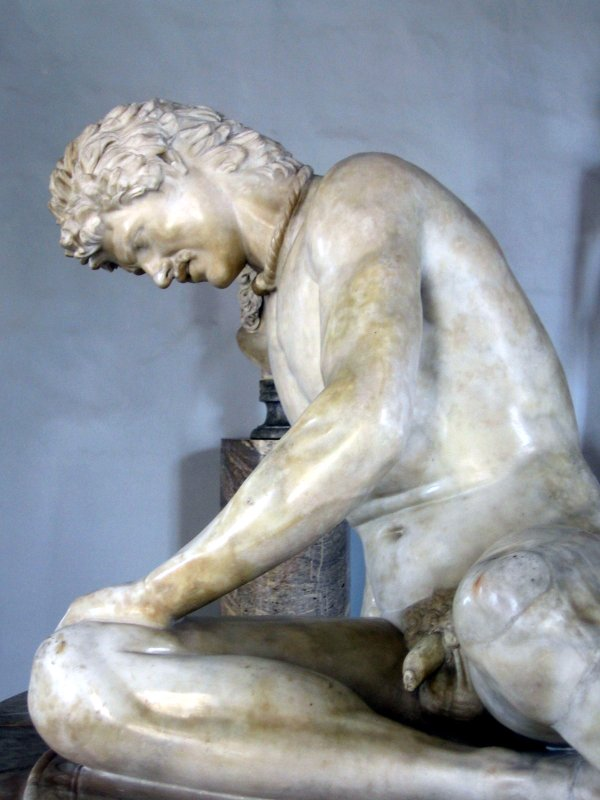 dying gaul from side