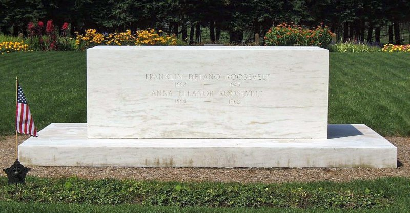 Franklin and Eleanor at Rest, Hyde Park, New York (FDR Bio, part 2)