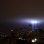 Tribute in Light with Freedom Tower September 11 2011 Shankbone