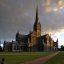 salisbury cathedral, withshire, england