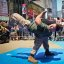 Martial Art Demo during Marine Day Times Square, May 27 - Fleet Week New York 2011