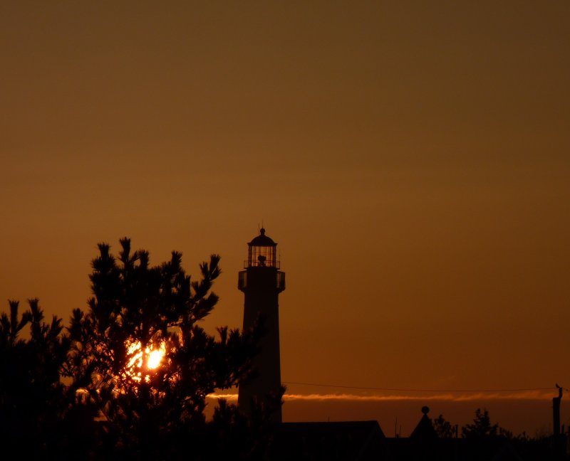 Sun Rises Over Cape May Point