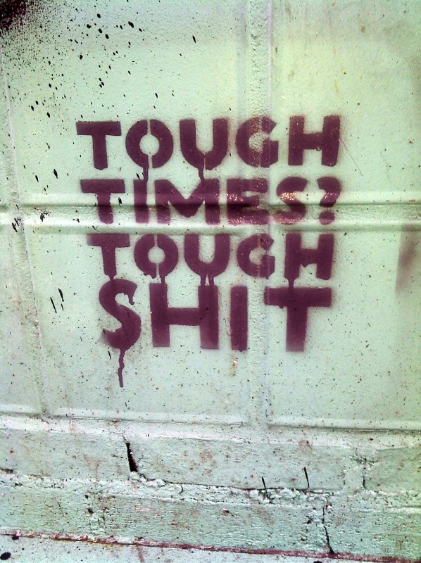 Tough Times Tough Shit: The Republican philosophy