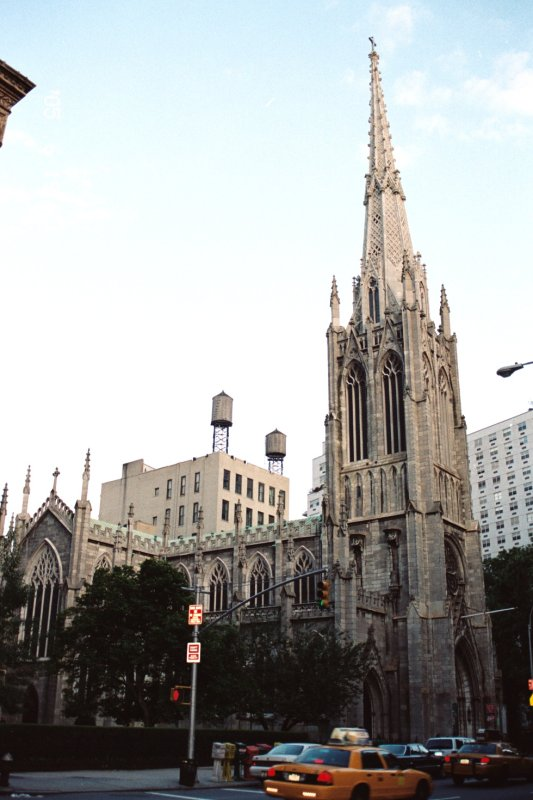One more Church on Broadway , New York