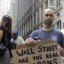 Man at Occupy Wall Street